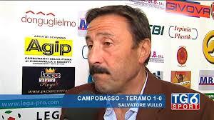 L'allenatore Sasà Vullo