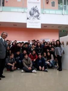 Le classi  3^ B e 5^ C del Liceo Scientifico 'A. Romita' di Campobasso
