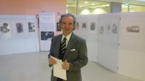 L'artista Domenico Fratianni