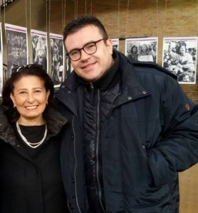 Gli assessori comunali Emma de Capoa e Salvatore Colagiovanni