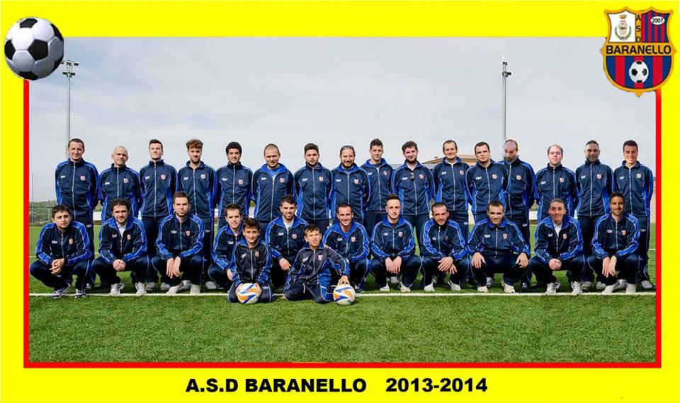 A.S.D. Baranello, vincitori del campionato di Prima Categoria