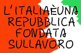 l'italia repubblica lavoro