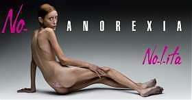 Campagna contro l'anoressia di Oliviero Toscani