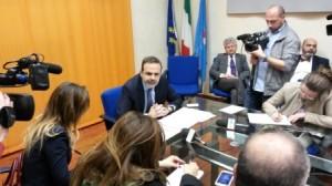 sanità ed editoria conferenza stampa Frattura