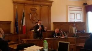 L'intervento dell'assessore Salvatore Colagiovanni