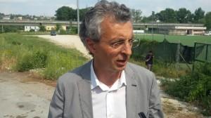 L'assessore ai Lavori Pubblici, Pietro Maio