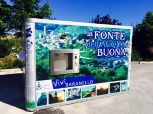 """Baranello, zona Municipio, """"La Fonte dell'acqua buona"""""""
