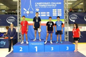 d'Amico Manuele bronzo sul podio