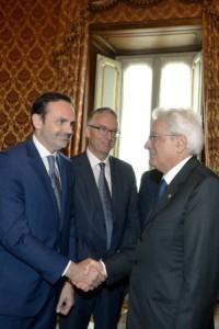 Frattura con il Presidente Mattarella