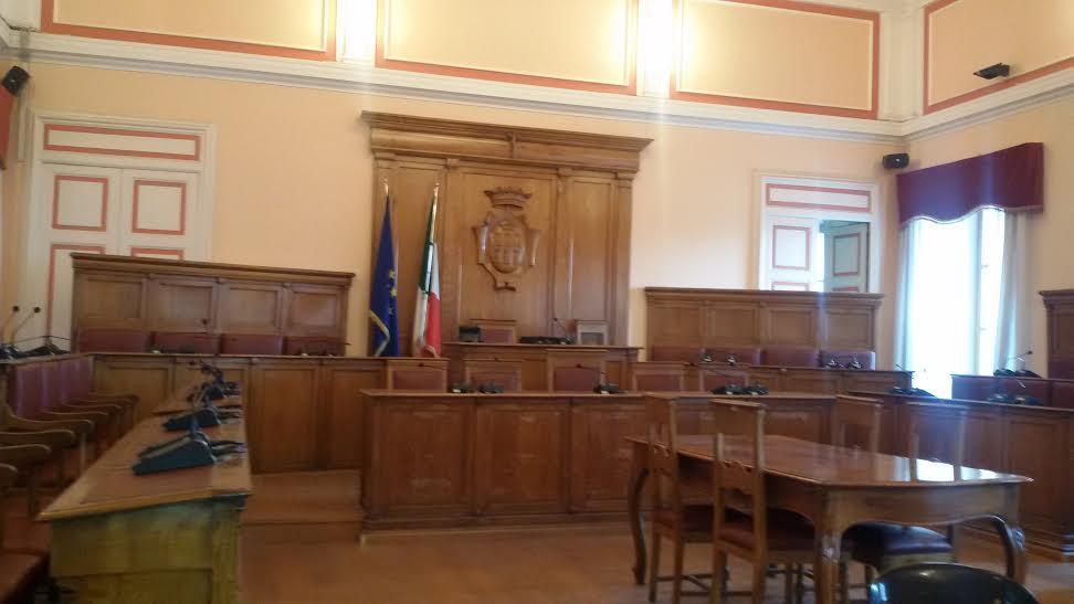 Photo of Palazzo San Giorgio, conferenza stampa dei Popolari per l'Italia, Fratelli d'Italia e Forza Italia