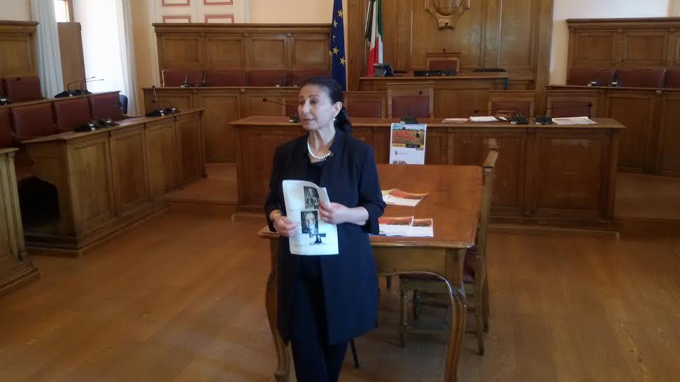 L'assessore alla Cultura del Comune di Campobasso, Emma de Capoa