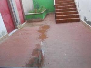 Termoli, scuola media 'Brigida'. Foto denuncia del Corriere della Sera sulle infiltrazioni d'acqua