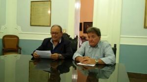 Rosario De Matteis e Filippo Poleggi