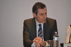 Il consigliere regionale delegato allo sport Carmelo Parpiglia