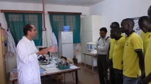 Massimiliano Guerriero, medico campobassano in missione in Uganda