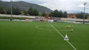 I tifosi del Campobasso a Scoppito