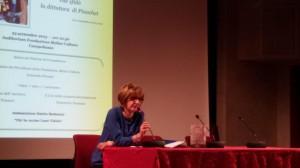 Il saluto della Dirigente Scolastica, la professoressa Anna Gloria Carlini