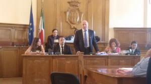 L'intervento sul bilancio del sindaco Antonio Battista