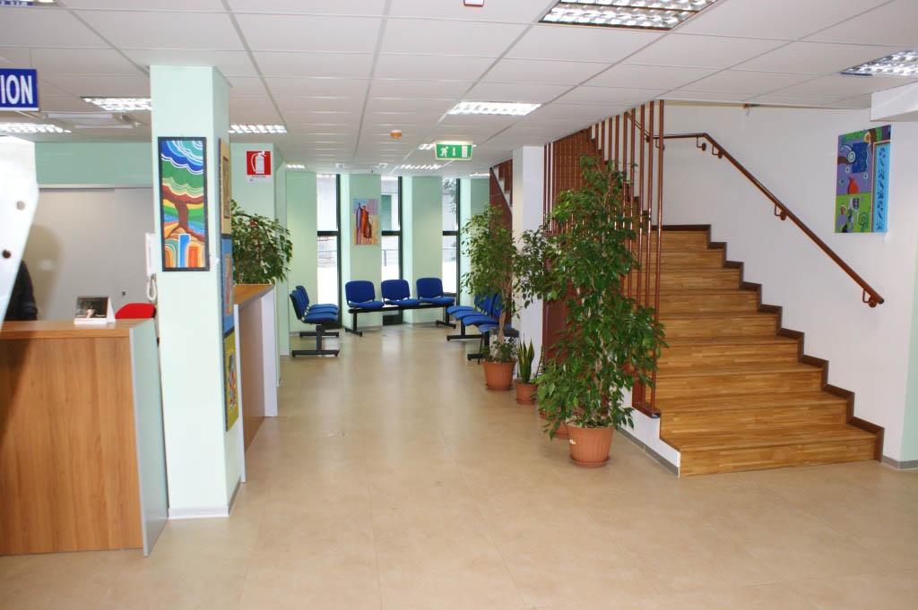 I locali della sede del Centro di Salute Mentale di Campobasso