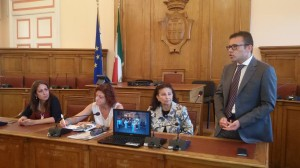 La conferenza stampa di bilancio di 'Vivi la tua Città'