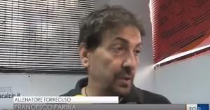 Francesco Farina intervistato dalla redazione Rai della Basilicata dopo la gara di Potenza