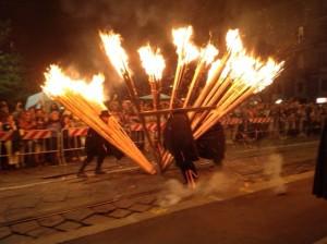 La 'Ndocciata a Milano sulla Darsena nell'evento fuori salone di Expo 2015