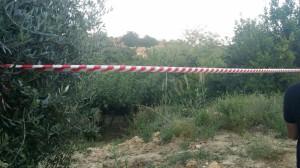 Il luogo dell'incidente a San Giacomo degli Schiavoni