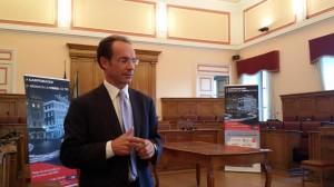 Marco Mozzoni, responsabile della Telecom