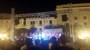 La presentazione del Campobasso in Piazza Municipio