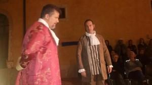 Un momento dello spettacolo 'Salvatore Romano - Una storia da riscoprire della Campobasso del '700'