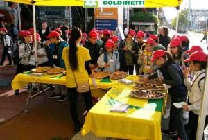 Il padiglione della Coldiretti all'Expo a Milano