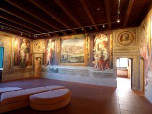 Gli affreschi al Castello di Capua