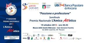 La locandina dell'evento di Pescara