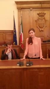 Azzurra De Gregorio e Giulio Maroncelli
