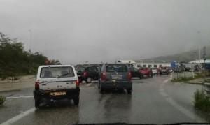 Il traffico al bivio di Guardiaregia