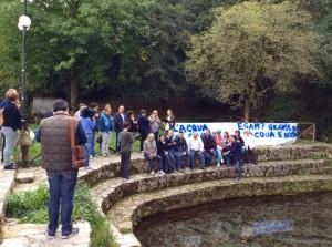 L'incontro dei cittadini di Bojano contrari all'Egam