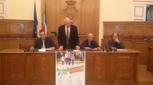 La presentazione della Giornata Nazionale del Camminare a Palazzo San Giorgio