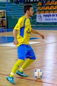 Davide Fasano dell'Isernia Calcio a 5