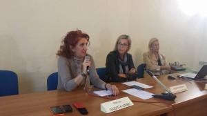 La Consigliera di Parità, Giuditta Lembo, e la Dirigente Scolastica Rossella Gianfagna
