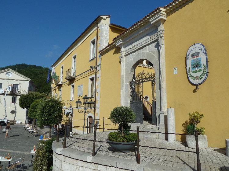 Il Municipio di Sepino
