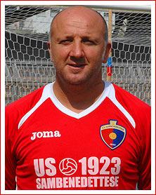 Ottavio Palladini, neo-allenatore della Sambenedettese (foto sito ufficiale club)