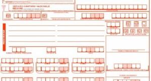 Un modello di ricetta sanitaria rossa