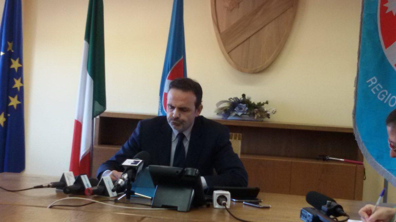 Il Presidente della Giunta regionale del Molise, Paolo di Laura Frattura