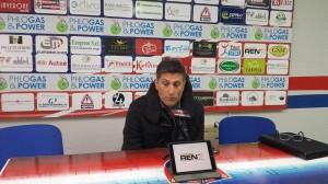 L'allenatore Massimiliano Favo