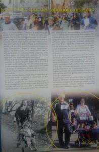 La pagina del giornale della 'Su e Giù'