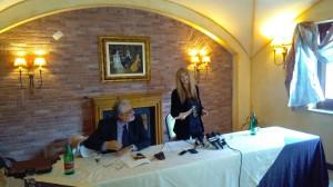 L'avvocato Arturo Messere e la giornalista Manuela Petescia