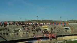 Pochi gli spettatori presenti per Campobasso - Matelica