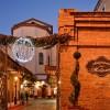 L'ingresso di Piazzetta Palombo: in questo scenario Campobasso saluterà il 2015