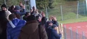 """I tifosi del Campobasso presenti al """"Tubaldi"""""""