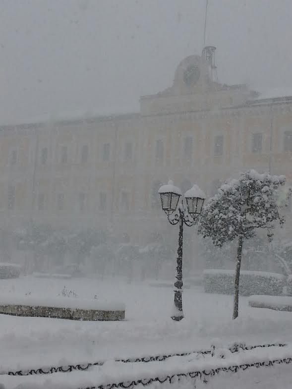Il Municipio (foto Mario Annuario)